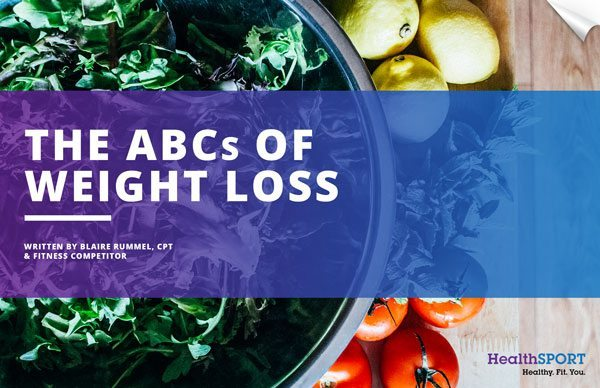 the abcs of weight loss