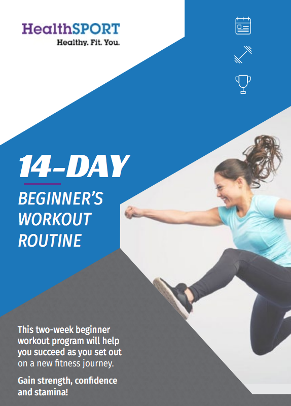 beginner workout routine