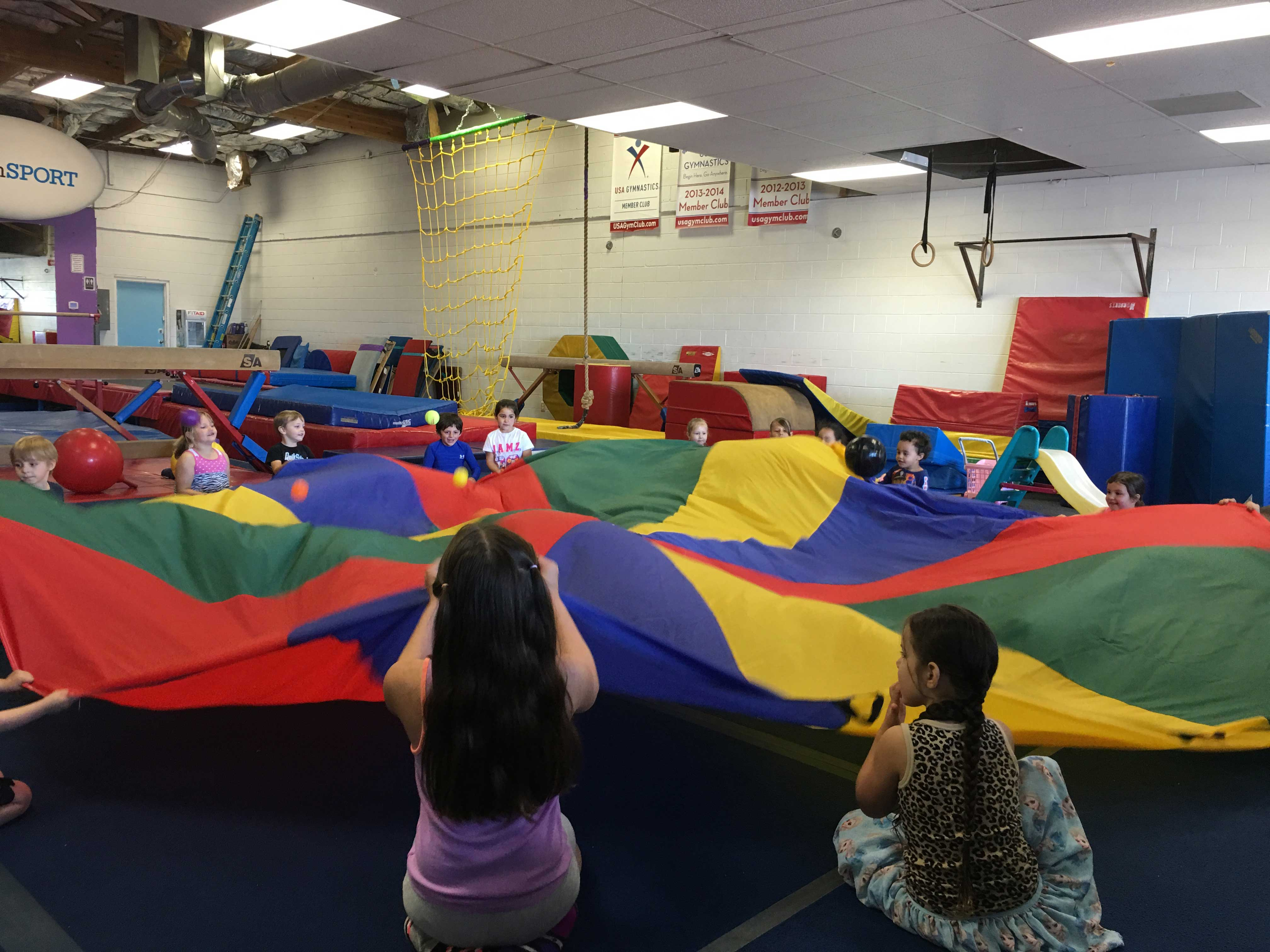 Youth Party at HealthSPORT Gymnastics in Humboldt County