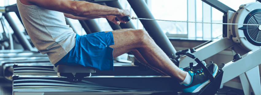 Get An Amazing Total-Body Workout Using The Rowing Maching
